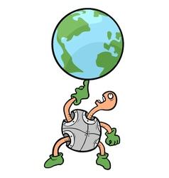 Funny world vector