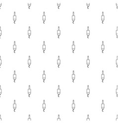 jack cable pattern seamless vector image