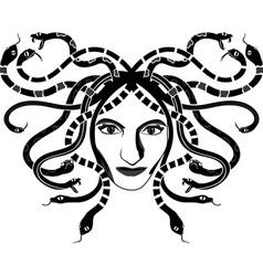 Meduse gorgona vector