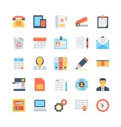 Office and Stationery Icons 1 vector