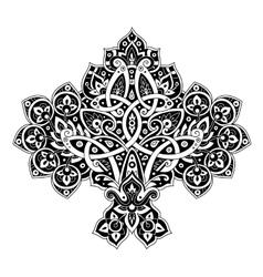 Oriental decorative element vector