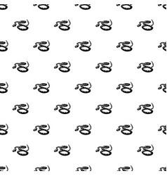Rattlesnake pattern seamless vector