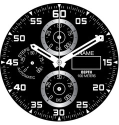 Smart watch face i vector