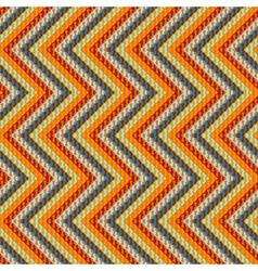 Zigzag geometric pattern vector