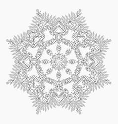 Mandala antistress coloring pages vector