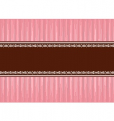 pink brown vector image vector image