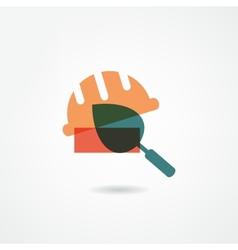 builder icon vector image vector image
