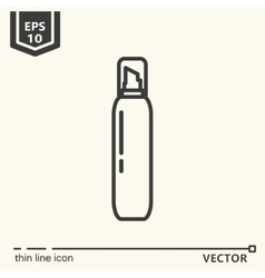 Hairdressing tools Icons series Hair foam vector image vector image