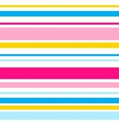 horizontal stripes seamless pattern Eps10 vector image