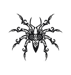 ornament spider vector image vector image