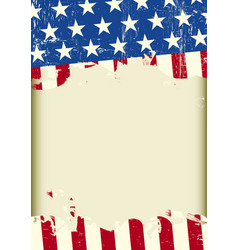 American cool dirty background vector