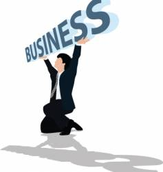 business support vector image