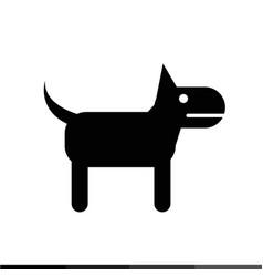 dog icon design vector image