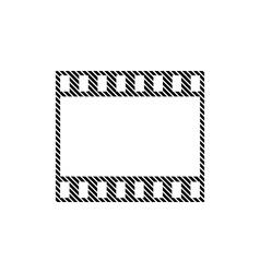 Film strip sign vector