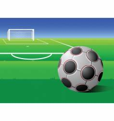Football field vector