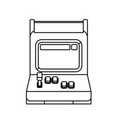 videogame arcade machine vector image