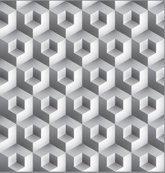 cube geometric pattern vector image vector image