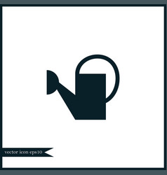 watering can icon simple vector image vector image