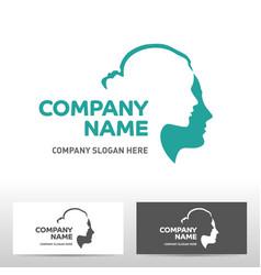 public association logo design vector image vector image