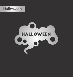 Black and white style icon halloween sign vector