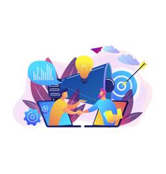 Collaboration concept vector