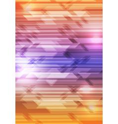 Colourful shiny hi-tech geometric background vector