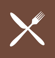 Cutlery and background vector