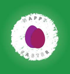 easter eggs background grunge3 vector image