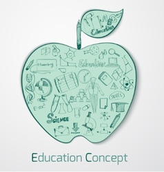 Education Doodle Concept vector