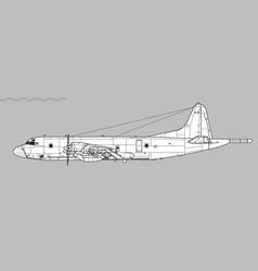 Lockheed p-3 orion vector