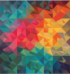 pattern geometric shapes vector image