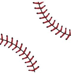 Baseball Lace Background6 vector image
