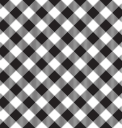 Black tablecloth diagonal seamless pattern vector