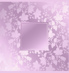 abstract vintage seamless damask pattern floral vector image