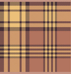 Autumn plaid seamless pattern vector
