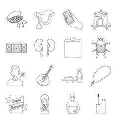 Cosmetics medicine hunting and other web icon in vector