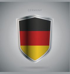 Europe flags series germany modern icon vector