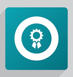 Flat achievement icon vector