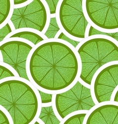 Green lime seamless background vector