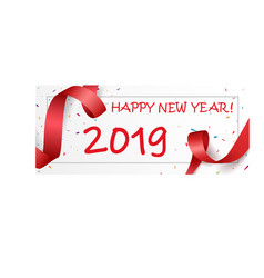 happy new year celebrations design vector image