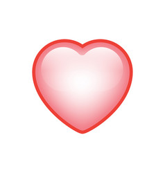 Valentines love heart vector