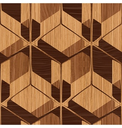 Wooden pattern vector
