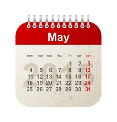 calendar 2015 - may vector image
