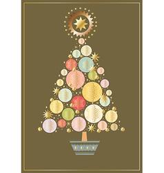 starry-tree vector image