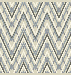 Geometric zigzag seamless pattern vector