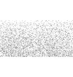 Pixel gray gradient horizontal background vector