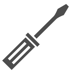 Screwdriver Flat Icon vector