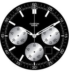 Smart watch face l vector