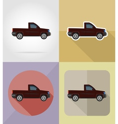 Transport flat icons 07 vector
