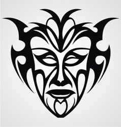 Tribal Face vector image